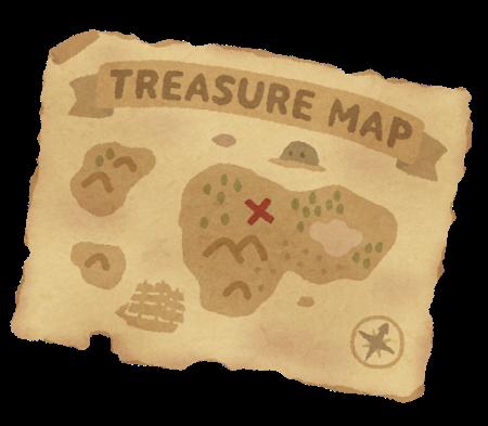 配達先の地図